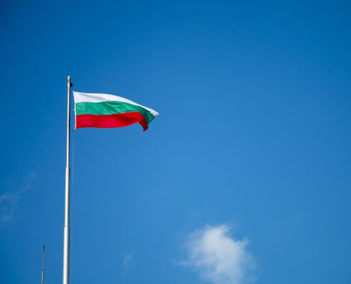 Il tricolore della Bulgaria