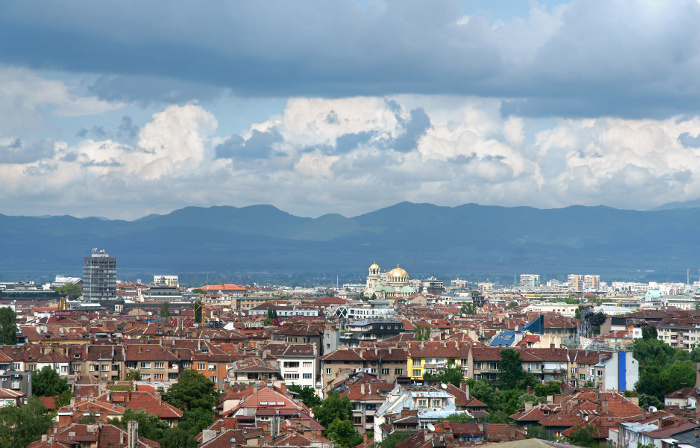 Il clima stagionale della capitale bulgara